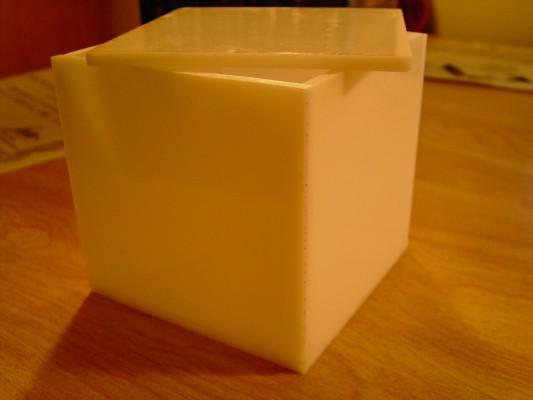 The acrylic cube