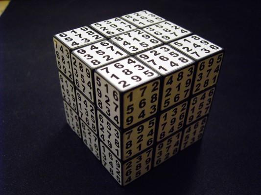 A true sudoku cube