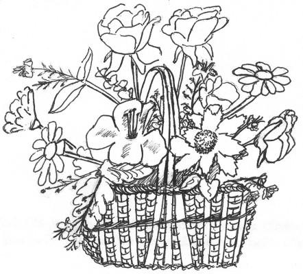 Floral arrangement (vignette)