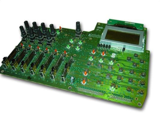 The main control pcb